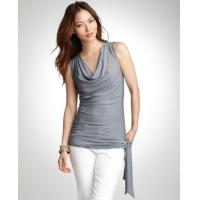Buy cheap Tops & Tees Striped cowl neck top from wholesalers