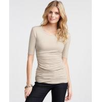 Buy cheap Tops & Tees Ruched crewneck top from wholesalers