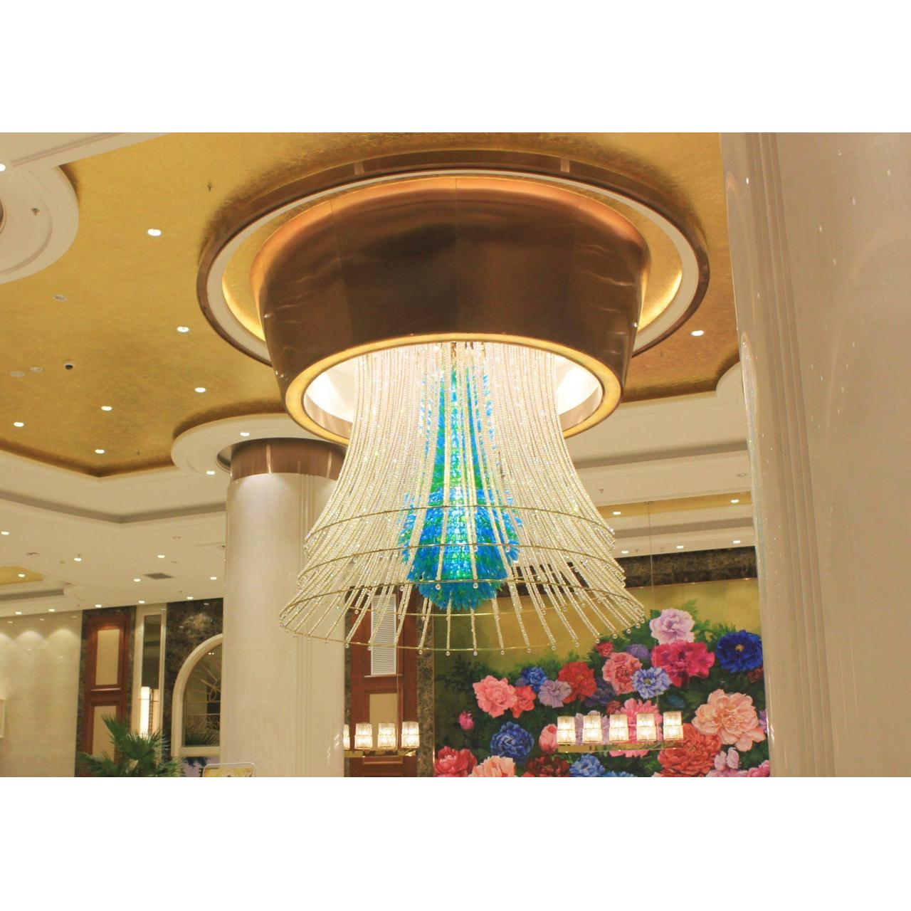 Buy cheap light product Hotel Crystal Lamps from wholesalers