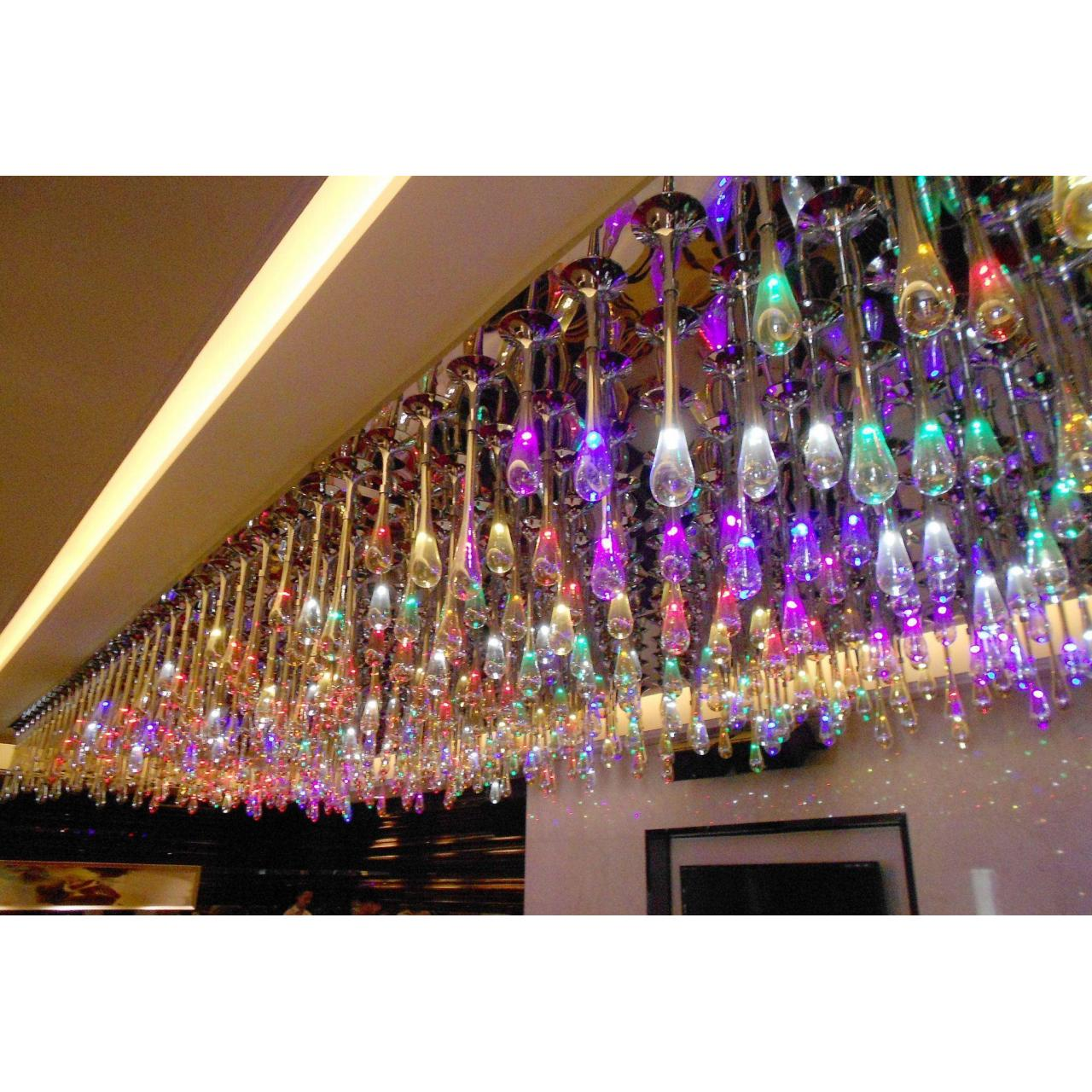 Buy cheap light product Custom blown glass chandelier from wholesalers