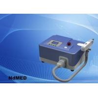 China Portable Tattoo Removal Laser Equipment , ND Yag Laser Tattoo Laser Removal Machine on sale
