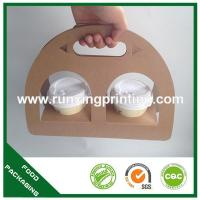 China Two coffee cup carrier on sale