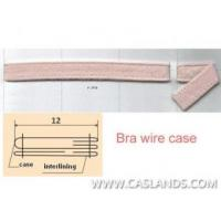 Sewn Nylon Brush Fabric Bra Wire Case/Casing UW9J-02