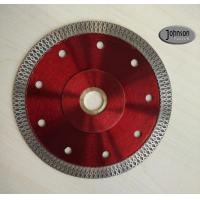 Quality 125mm Sintered Cyclone Mesh Turbo Diamond Blade for Ceramic Tile for sale