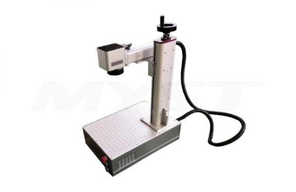 China Portable Fiber Laser Marking Machine for Metal