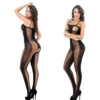 Quality sheer tights Crotchless Nylon Body Stocking for sale