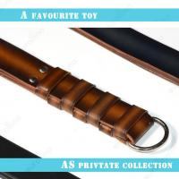 Quality Strict Leather Three Layer Leather Bondage Slapping Paddle Loud Sound Slapper for sale