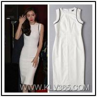 China New Fashion Dress Design Women Slim Fitted Bodycon Party Dress Wholesale on sale