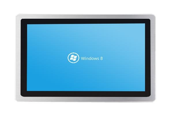 China 21.5inch Industrial touch screen panel pc with waterproof IP65 front panel