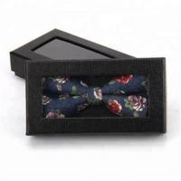 Quality Black Cardboard Tie Gift Box Wholesale for sale