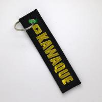 Buy cheap promotional gifts embroidered keychain key chain luggage tags from wholesalers