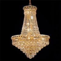Buy cheap Retro Bangkok Crystal Chandeliers Prism for Church & Ballroom Deco from wholesalers