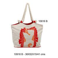Buy cheap 10916B - Cotton Beach Bags from wholesalers