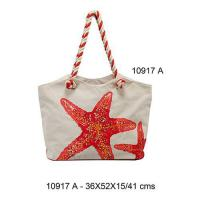 Buy cheap 10917A - Cotton Beach Bags from wholesalers