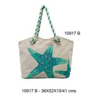Quality 10917B - Cotton Beach Bags for sale