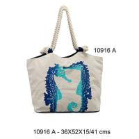 Buy cheap 10916A - Cotton Beach Bags from wholesalers