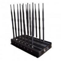 Buy cheap 14 Antennas Adjustable 3G 4G Cellphone Signal Blocker & WiFi GPS UHF VHF & Full Bands Signal Jammer from wholesalers