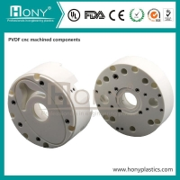 Quality Custom CNC milling part PVDF cnc turning service axis cnc milling for sale