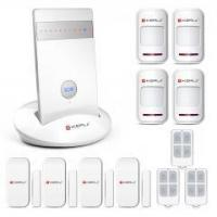 Quality Kerui G15 APP control wireless home security GSM alarm system for sale
