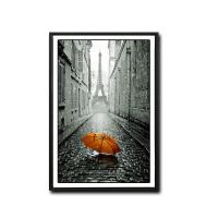 Quality Umbrella Under Eiffel Tower Popular HD Picture Print Canvas Wall Painting for sale