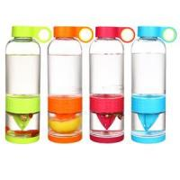 Buy cheap glass lemon bottle glass drinkware from wholesalers