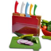 Buy cheap Colorful Cutlery Set with dread board from wholesalers