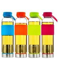 Quality High Borosilicate Glass Water Sports Bottle for sale