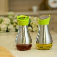 Quality Stainless steel and Glass material Oil and Vinegar Bottle Sets for sale