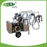 China Petrol and electric milking machine on sale