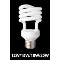 Quality 7mm tube energy saving CFL lamp Half spiral CFL lamps for sale