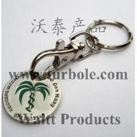 Quality Trolley Coin Keyring for sale