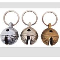Quality Dia 25mm brass bell with keyring/ key chain bell/promotional bell for sale