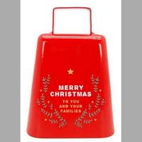 Quality wholesale nice christmas bell for Kmart/walmart/Meijer/Target , cowbell manufacturer from China for sale