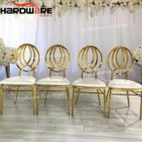banquet chair stainless steel