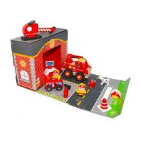 Quality Wooden Fire Station for sale