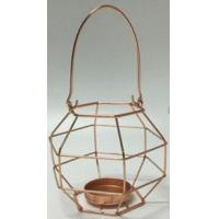 house series Product NameGEOMETRIC WIRE TEALIGHT HOLDER WITH HANDLE