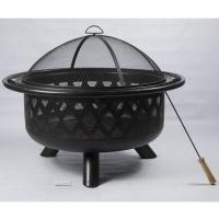 Quality 32'' CROSSWEAVE ROUND FIRE PIT-AUJW32 for sale