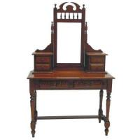 Quality Scroll Mahogany Vintage Dressing Tables MH-DM008 for sale