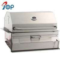 China High End Built-in Stainless Steel Charcoal BBQ Grill and Cart on sale